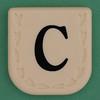 Line Word black letter C