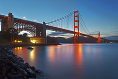 Golden Gate Bridge: Fort Point, San Francisco photo by KP Tripathi