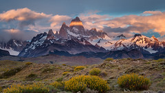 Monte Fitz Roy Sunrise photo by glness