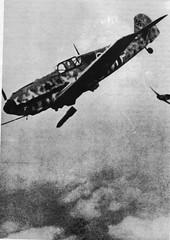 1942 Bir Hakeim - Bombardements sur BH