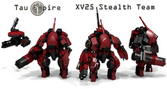 Tau XV25 Stealth Team photo by Garry_rocks