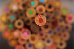 215/365 Pencil bokeh photo by chestnutgrey