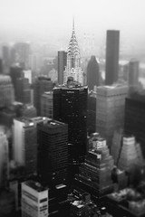 New York City - Skyline and Chrysler Building on a Foggy Evening photo by Vivienne Gucwa