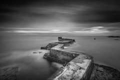 St Monans Mono photo by Christopher Combe Photography