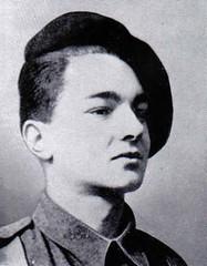 22 BMNA- Alain Taburet, engagé à 17 ans dans les FFL à Londres, Cadet de la France Libre, MPLF le 23 janvier 1945 près d'Illhaeusern (bois de Gemeinmark) source : Françaislibres.net