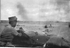 1942 Bir Hakeim - Sous le bombardement - Source :  Bir Kakim 1943