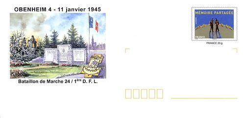 Philatélie-  Obenheim- Source : Jean Pflieger