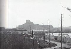 1944 - Provence- Chateau de la garde vu de la voie ferrée - col part- Paul Gaujac