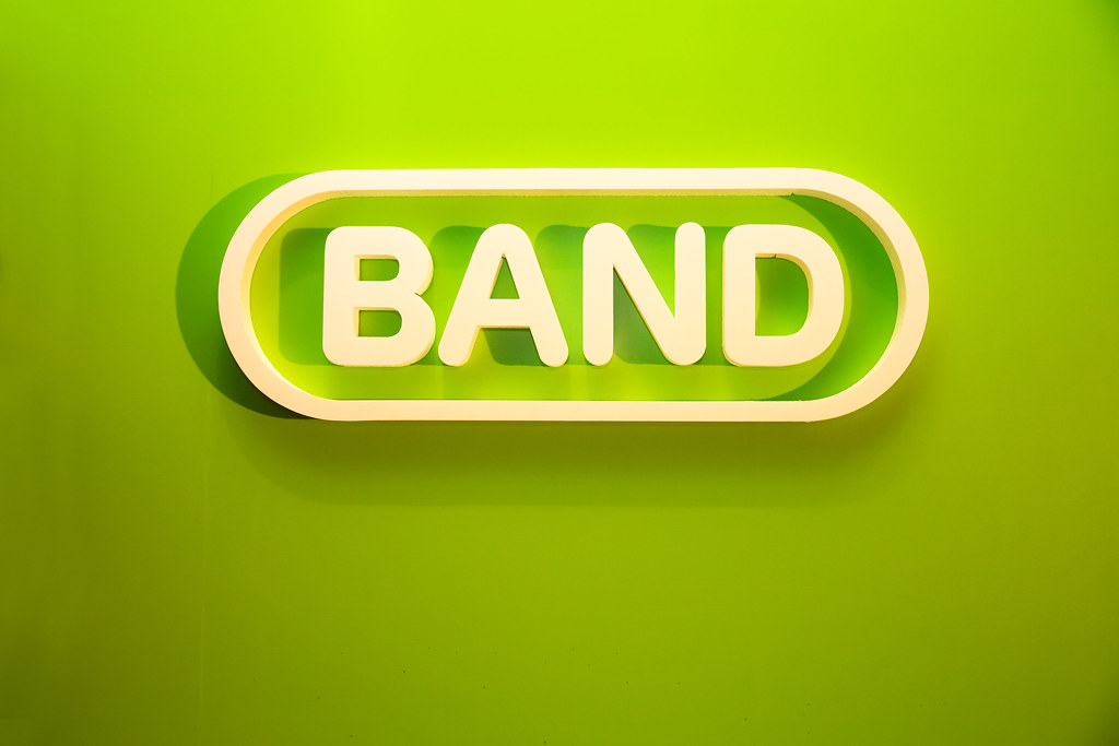 就我們的 BAND!LINE BAND 聚會 @3C 達人廖阿輝