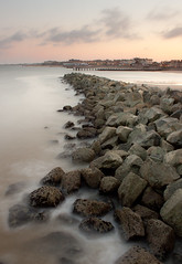 Lowestoft Breakwater Sunset photo by Julian Barker
