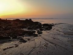 Sun set at La torche photo by ouest eden (0n/0ff)