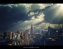Manhattan - Dramatic Sky photo by Dominic Kamp