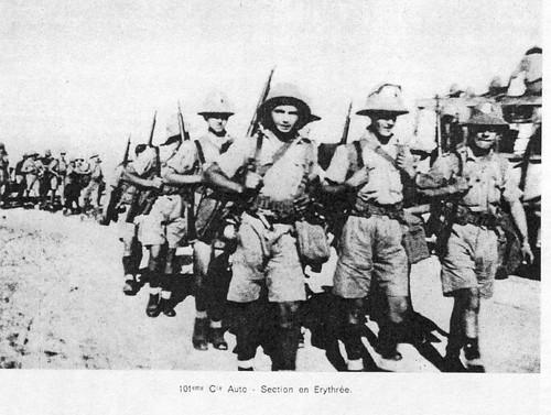 101 CA Train -1941- Erythrée