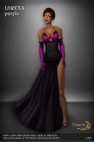 DANIELLE Lorena Purple