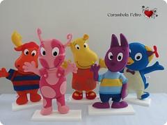 Bichões!!! photo by carambola arte em feltro