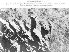 1942 Bir Hakeim - vue aérienne d'un bombardement