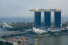 Marina Bay Sands hotel, Singapore photo by UweBKK (α 77 on )