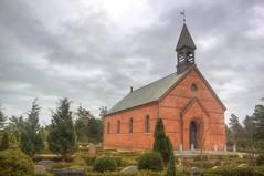 Blåvand Kirke in February photo by blavandmaster