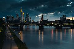 Rainclouds move above Frankfurt photo by _flowtation