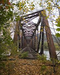 Abandoned Train Bridge 2013. photo by porc3laind0ll