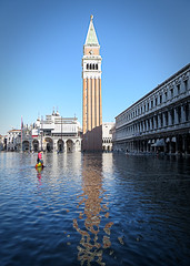 Flooding St. Mark's Square photo by benshell