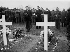 Alsace- 1945- Cimetière Obenheim  - ADFL