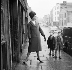 A girl can never have too many admirers! photo by National Library of Ireland on The Commons