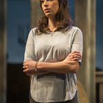 Emily Berman (Tessa) in DAYS LIKE TODAY at Writers Theatre. Photo by Michael Brosilow.