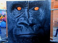 2013 Upfest Bristol - Gorilla Graffiti Art by Graffiti Artist: Matti photo by Andy_Hartley