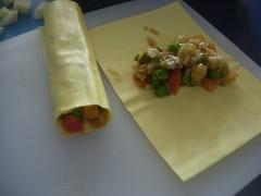 Scrigno di zucchine con cannelloni alle verdure-4