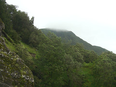 Nuuanu Pali State Park - Mountain & Clouds