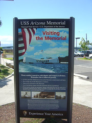 Arizona Memorial - Sign
