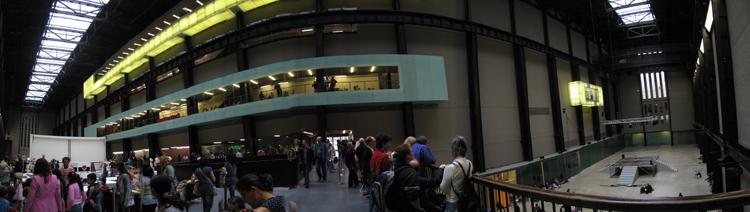 Sobre del consumo masivo de drogas: Tate Modern