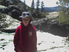 Cole at the falls