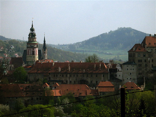 The Castle at Cesky Krumlov