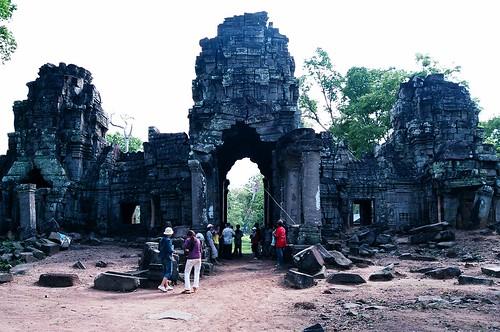Preah Khan temple in Preah Vihear province
