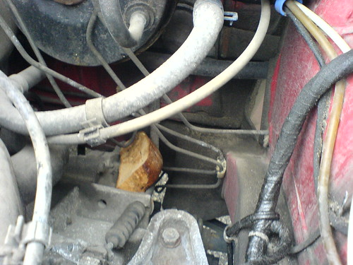 brötchen unter der motorhaube