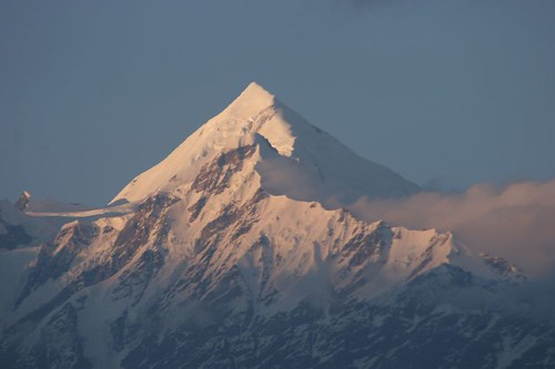 Panchachuli with its glacier