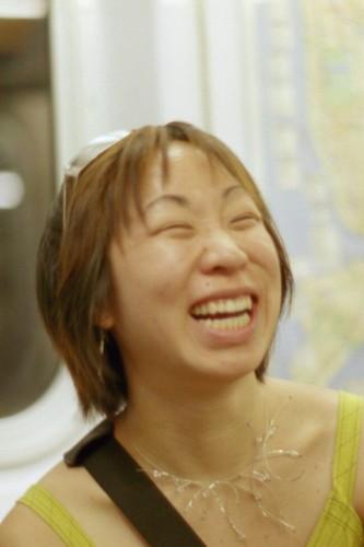 elsa laughing