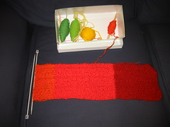 Rainbow Scarf and next three colours