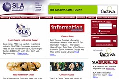SLA Old Home Page