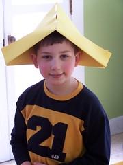 A Large Paper Hat