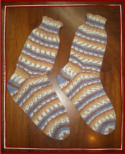 finished regia socks!