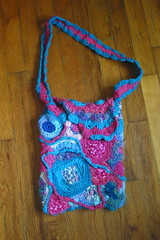 FreeForm Purse - almost done
