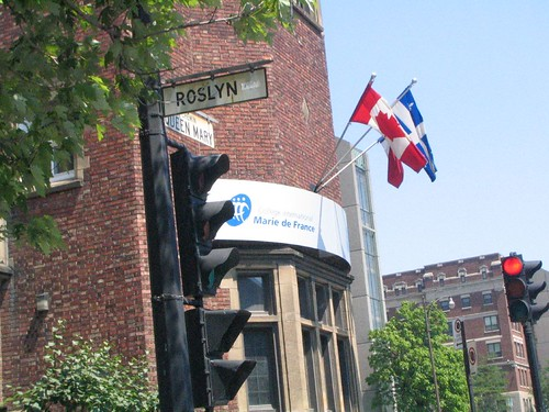 Roslyn Ave in Montreal