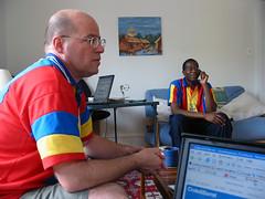 Ghana leading the usa world cup