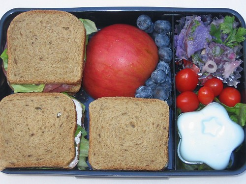 Mini-sandwich bento for adult お弁当