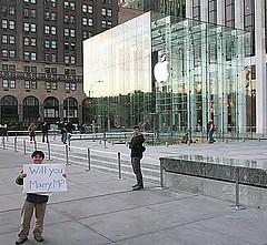 Apple Store Wedding Proposal