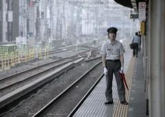 Awaiting the train