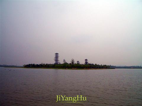 暨阳湖湖心岛